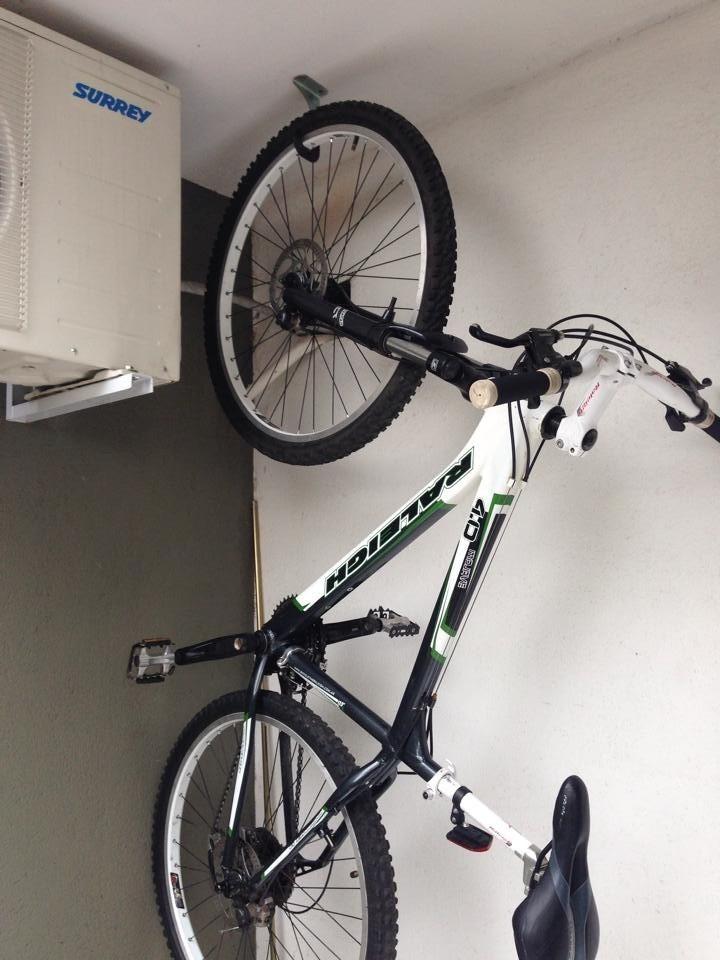 Gancho de colgar bicicleta ciclismo mtb ruta bmx oferta - Gancho bicicleta pared ...