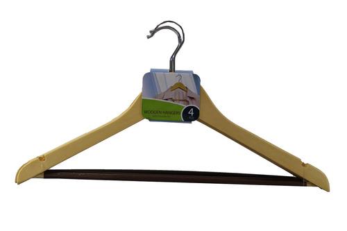 gancho de madera 4 pzas mod.96460