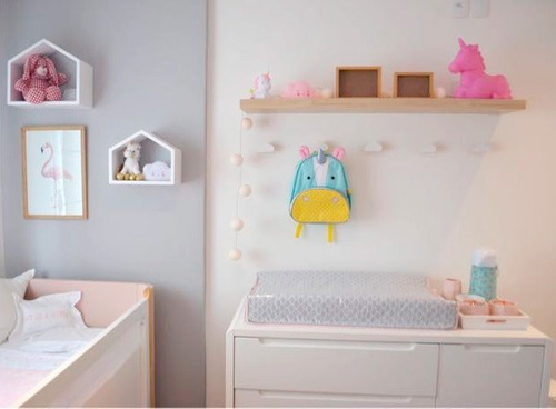 gancho de parede kit com 4 quarto bebê madeira pinus