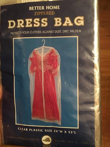 gancho dressbag para traje vestido o prenda delicada!!