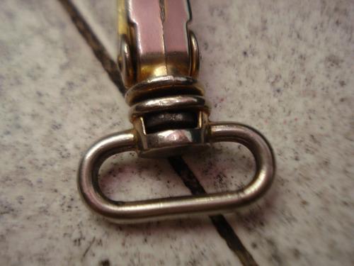 gancho metalico para maletines o morrales (usado)