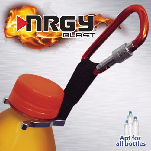 gancho mosqueton porta-botella universal nrgy-blast