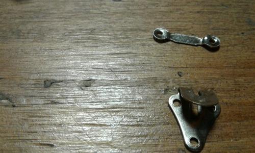 gancho pantalón para coser a mano x 6 unidades