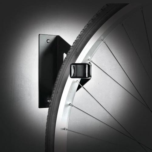 gancho para bicicleta a la rueda pared slime 20323 soporte
