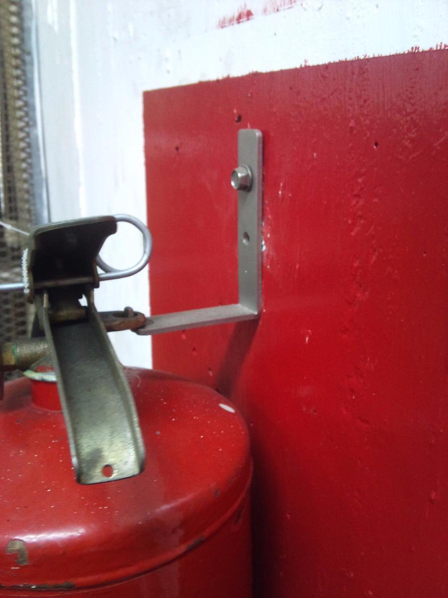 Gancho para colgar en la pared extintor de 7 y 15 libras - Colgar la tele en la pared ...