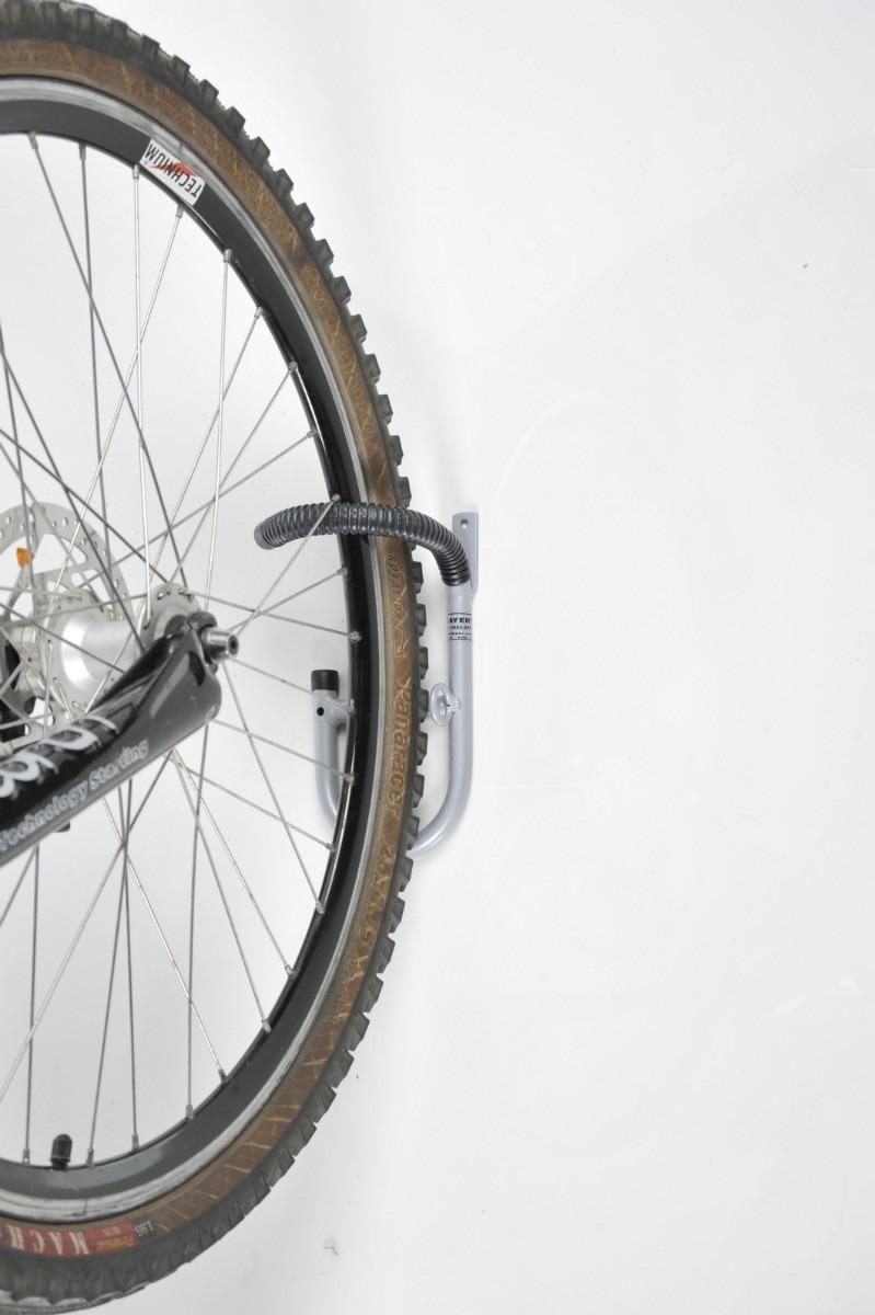 Gancho para pendurar bicicleta parede suporte de bike for Gancho adhesivo pared