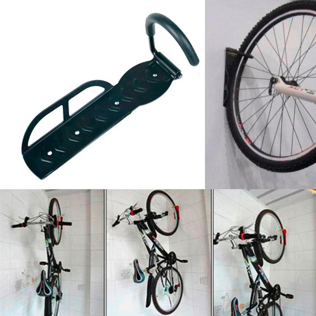 Gancho pendurar bicicleta parede suporte de bike c apoio - Gancho bicicleta pared ...