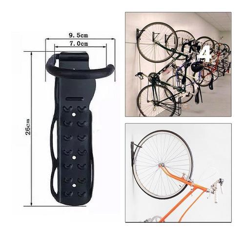 gancho porta bicicletas - soporte de pared muro