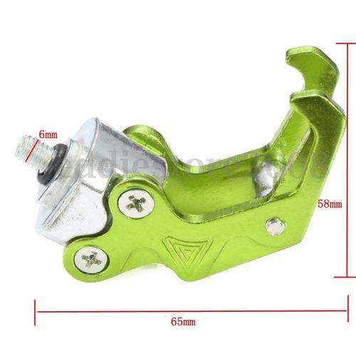 gancho porta casco de lujo bws o scooter en aluminio