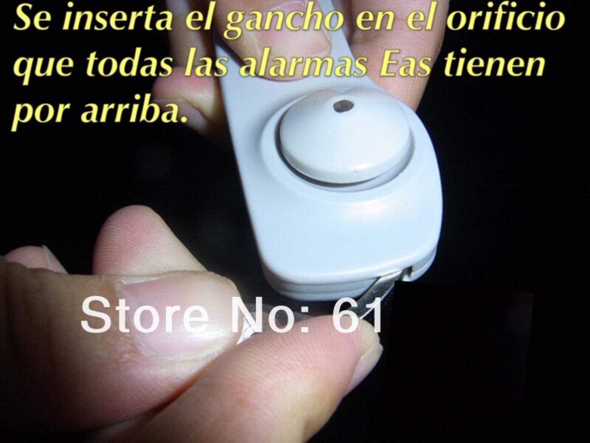 Gancho Saca Alarmas De Ropa Repuesto Pistola Retail Original