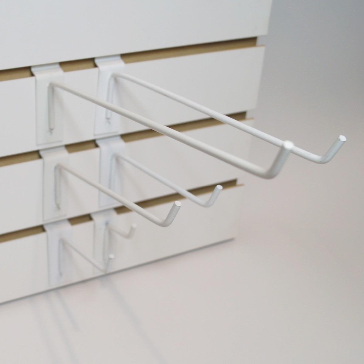 Ganchos blister para el exhibipanel en paquete de 10 for Ganchos para cortinas de riel