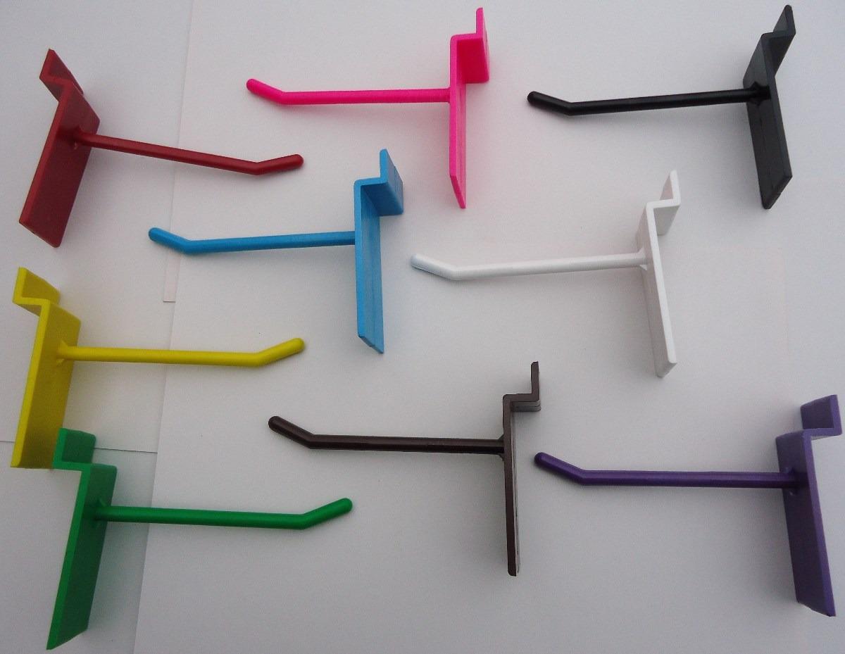 Ganchos blister para panel ranurado en mercado for Ganchos para pared
