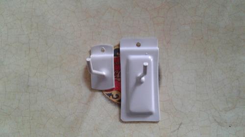 ganchos blisteros 10 cm para panel ranurado metal blister