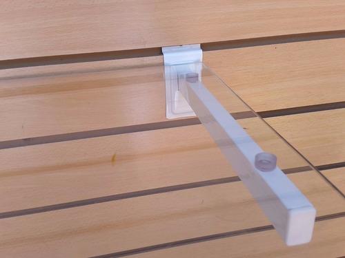 ganchos blisteros para paneles perforados o ranurado de 8cm