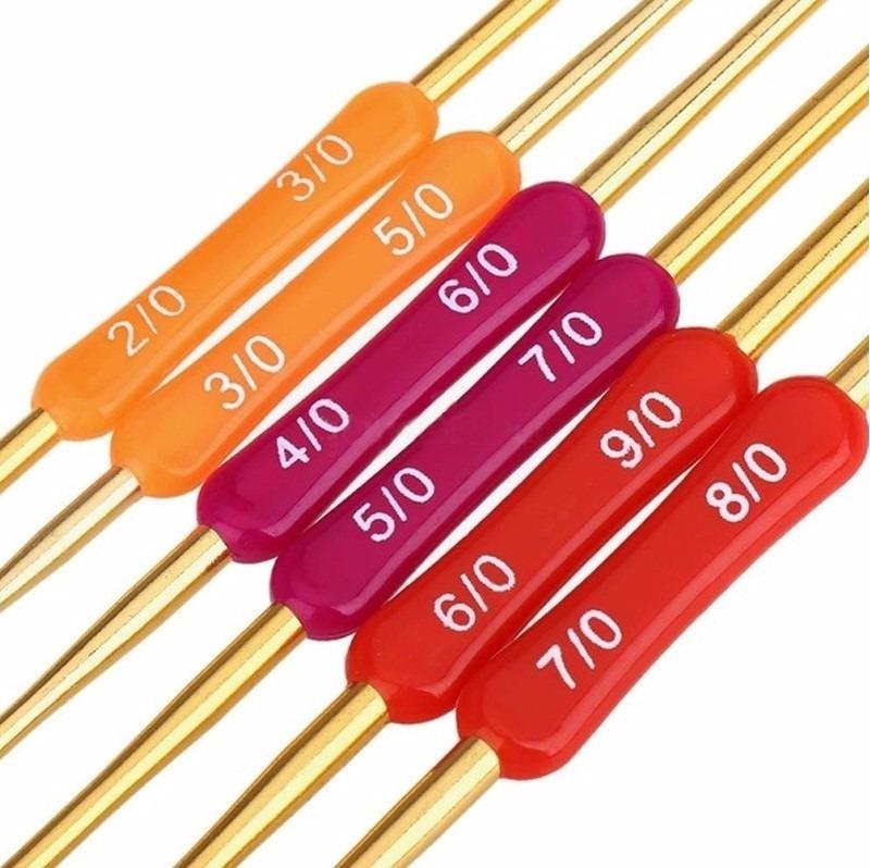 Ganchos crochet de aluminio dobles en mercado libre for Ganchos de aluminio para ropa