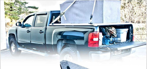 ganchos cromados de amarrar amarre carga y equipajes pick up