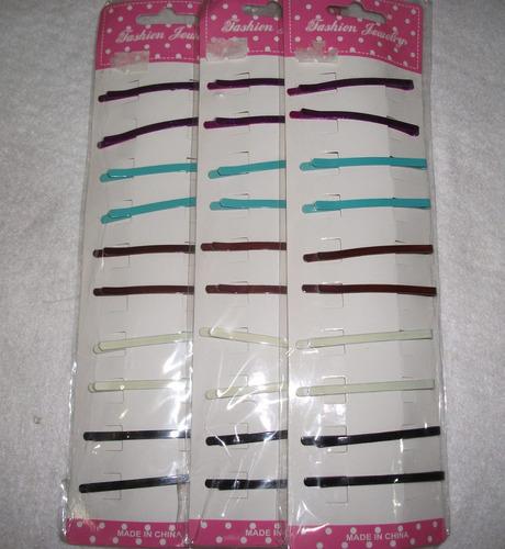 ganchos de colores para el cabello