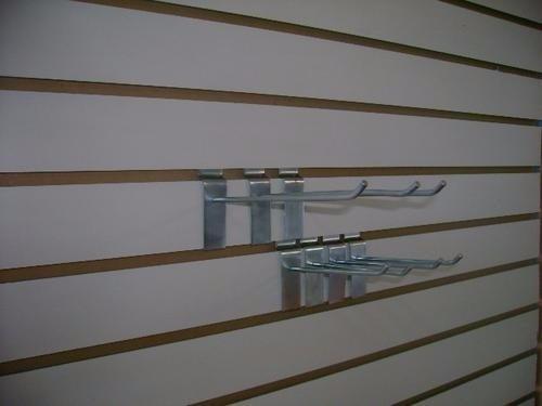 ganchos exibidores galvanizados de 10 c.m para tablas acanal