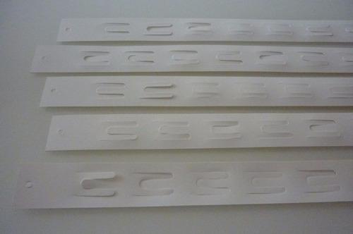 ganchos expositores / fita cross / clip strip - 50 unidades