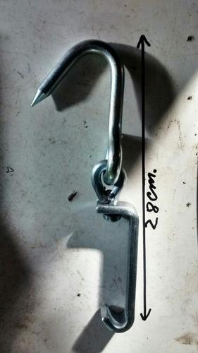 ganchos giratorios carniceros galvanizados