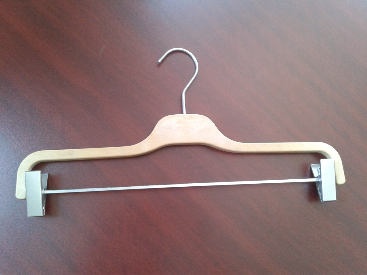 Ganchos para ropa tipo madera en mercado libre for Madera para colgar ganchos