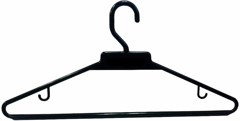 Ganchos pl stico para ropa x bolsa 200 unidades color for Ganchos de plastico