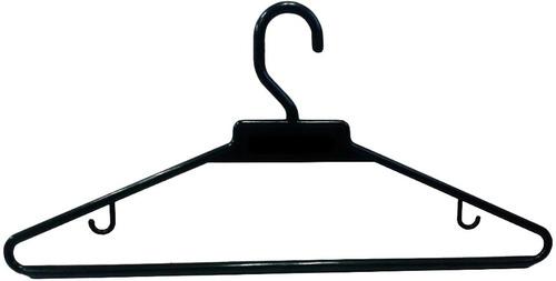 ganchos plasticos para colgar ropa bolsa x 100 unidades