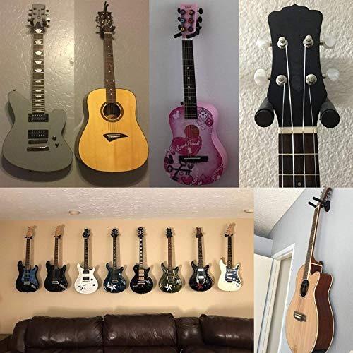 ganchos soporte para pared para guitarra ukelele bajo mandol