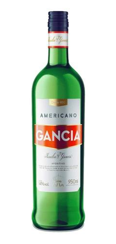 gancia americano aperitivo 12 botella 950ml bebidas pack x12
