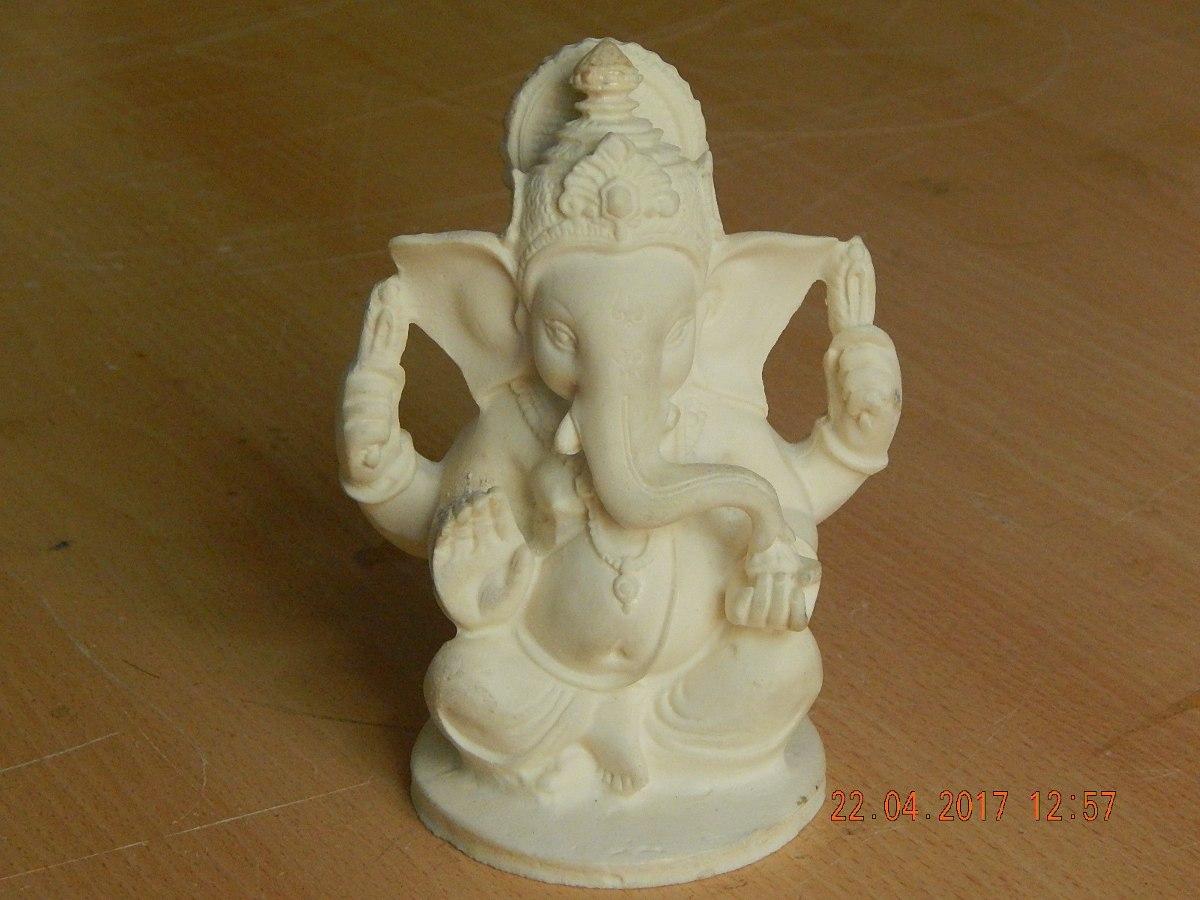 Ganesha Para Pintar De 12 Cm. - $ 26,00 en Mercado Libre