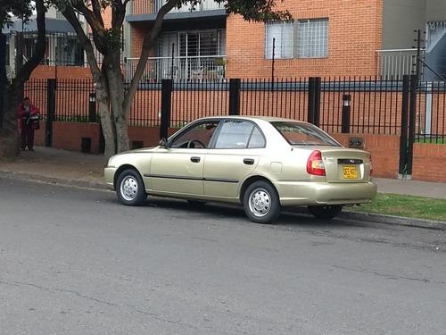 ganga excelente hyundai accent mod. 2003 - poco kilometraje.