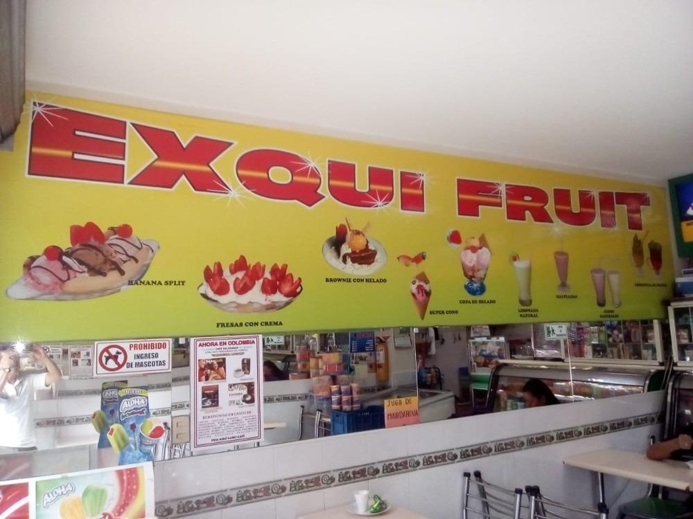 ganga frutería heladería san cipriano