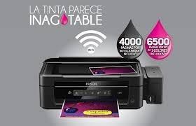 ganga impresora todos los modelos con sistema original epson