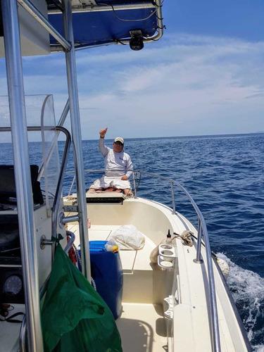ganga !!! lancha pesca 24 pies full equipada