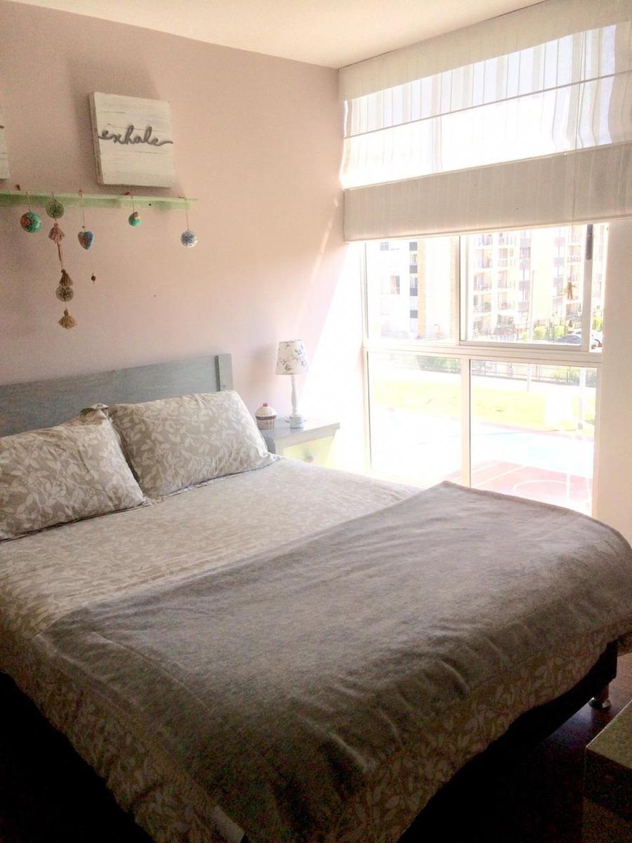 ganga !! nogales de cajica, apartamento exterior calientico