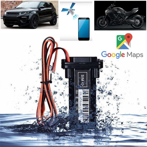 ganga!!! rastreador tracker gps gsm carro/moto resistente