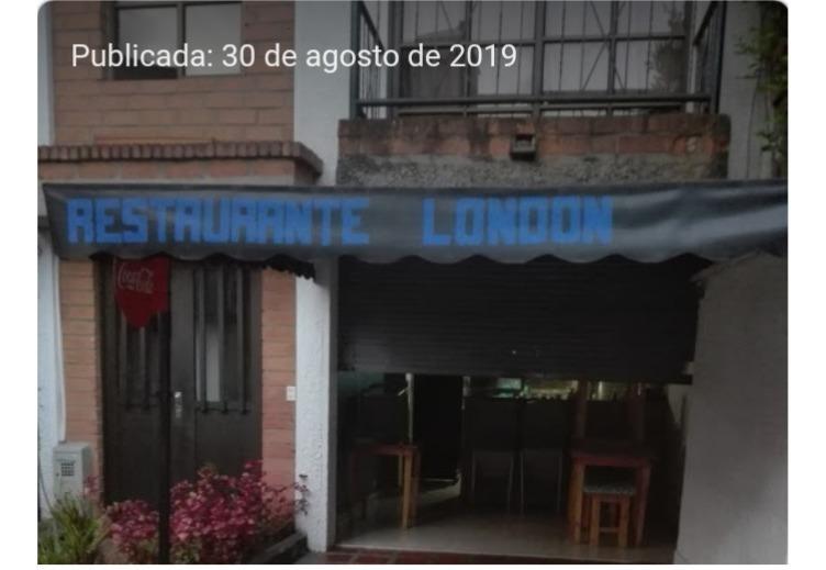 ganga se vende restaurante urgente motivo salud