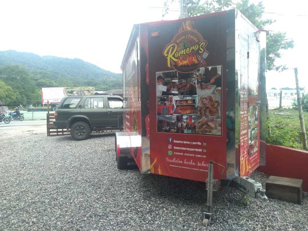 ganga trailer comidas tipo americano full equipado