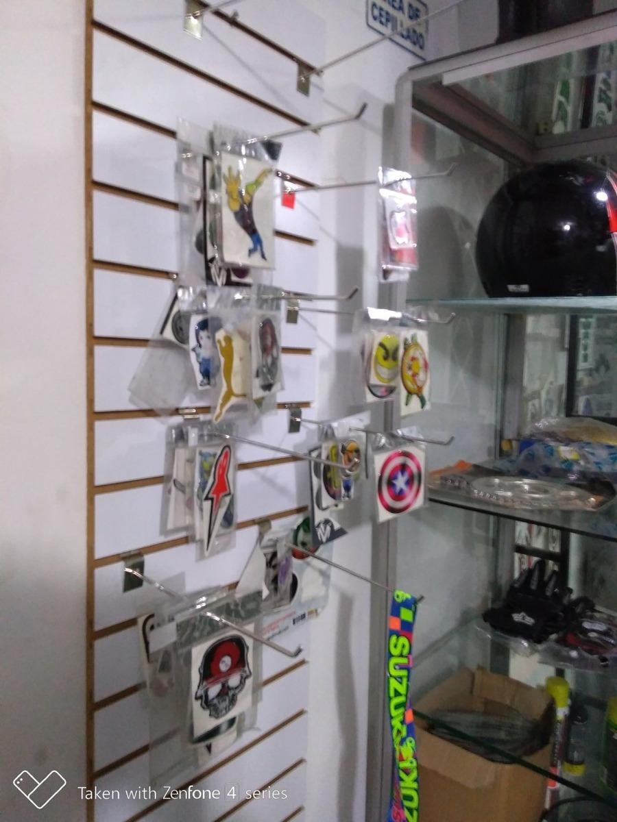 ganga vendo o permuto repuestos plotter vitrinas de motos.