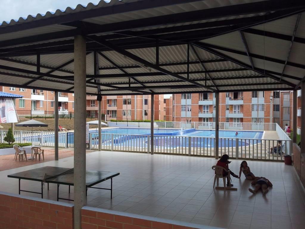 gangaso apartamento en la mesa cund, conjunto con piscina