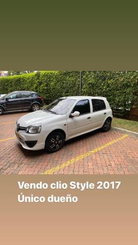 gangazo clio style 2017 (version mas full) unico dueño