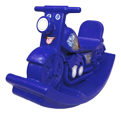 gangorra motoca balanço infantil rotoplas brasil azul