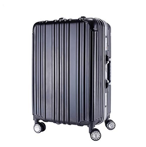 Color : Rose Gold, Size : L GaoMiTA Trolley Universal Wheel Aluminum Frame 360 ​​Degree Mute Caster Luggage Student