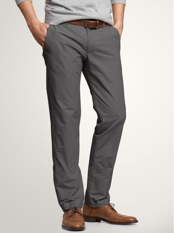 gap classic pantalon talla 32 x 32 gris  relaxed fit