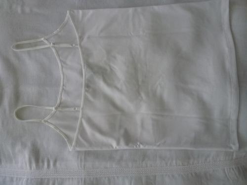 gap musculosa breteles extensibles algodón 100%