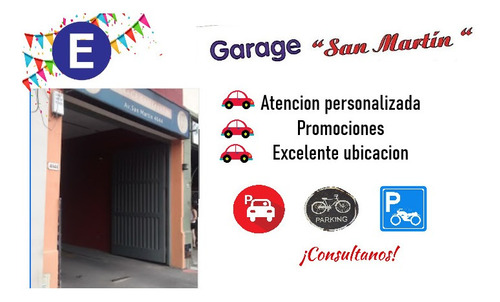 garage agronomia - estacionamiento - autos bici moto -