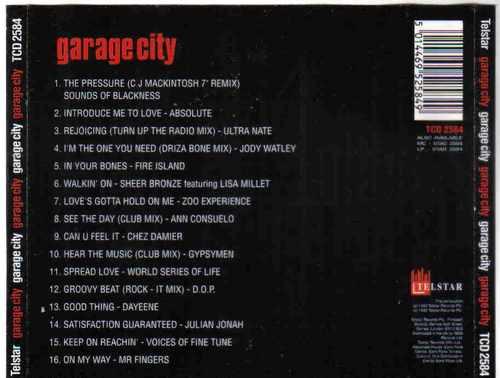 garage city 16 funky garage grooves