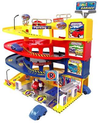 garage estacion de servicio rondi 3 rampas con sonidos