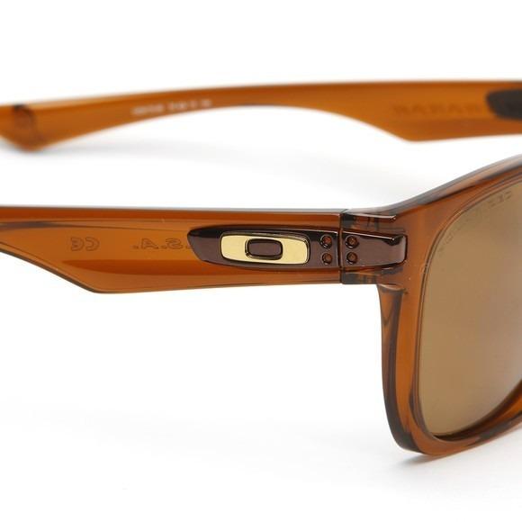 Óculos Oakley Garage Rock Polarizado - Marrom E Bronze C  Nf - R ... 68f471f577
