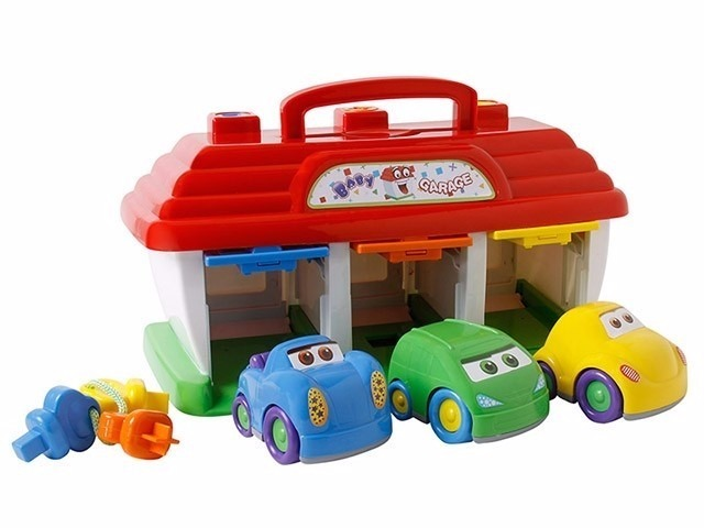 Garagem De Brinquedo Para Meninos 1 Ano Ou Mais R 77 80